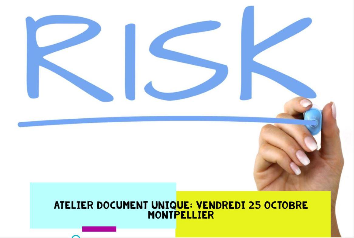 Atelier : évaluation des risques professionnels et document unique