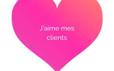 J'aime mes clients