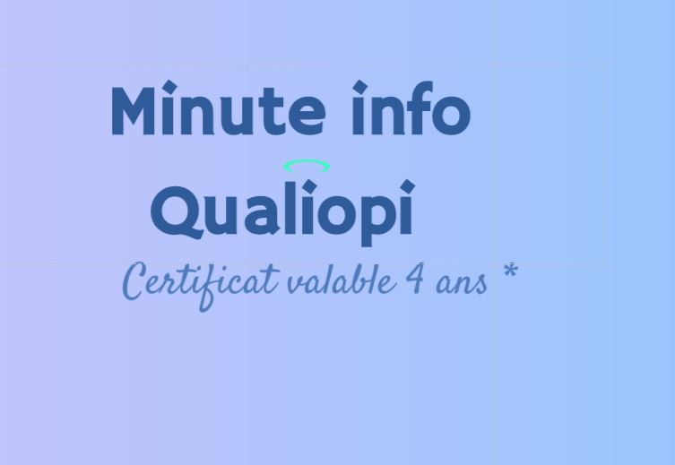 minute info qualiopi